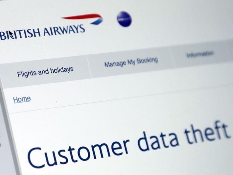 British Airways security breach